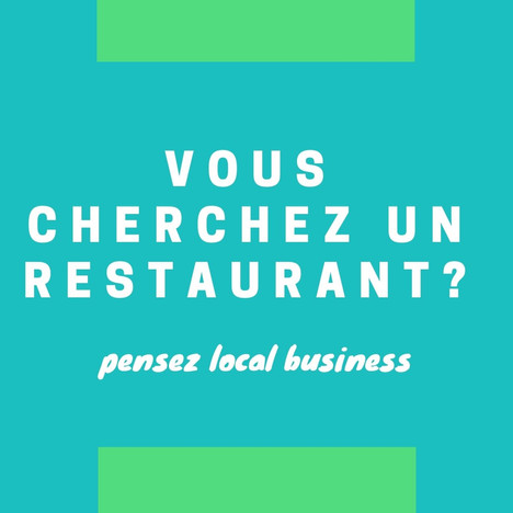 Découvrez l'offre de restauration à proximité de votre entreprise grâce à local business