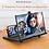Thumbnail: Ampliador de tela de telemóvel 3D HD video c/suporte de mesa dobravél