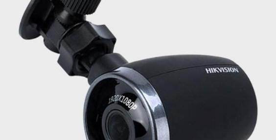 Câmera Hikvision Dash 1080P -AE-DN2017-F2 para viaturas