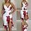 Thumbnail: Vestido com estampa floral e babados LZR2207
