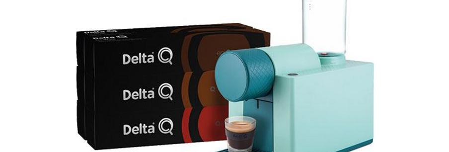 Máquina de Café Delta Qlip - Verde