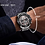Thumbnail: Relógio Desportivo de Luxo para Homem NAVIFORCE 9175 - Prata Preto