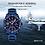 Thumbnail: Relógio Desportivo de Luxo para Homem NAVIFORCE 9117S - Azul