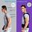 Thumbnail: Corrector de postura lombar ajustável de terapia magnética