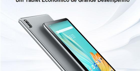 Tablet PC Blackview Tab 10 4GB + 64GB 10 polegadas Android 11 Octa Core - Cinza