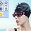 Thumbnail: Touca de natação de silicone para adultos