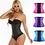 Thumbnail: Cinta modeladora de cintura, c/ 3 linhas de ganchos - preto