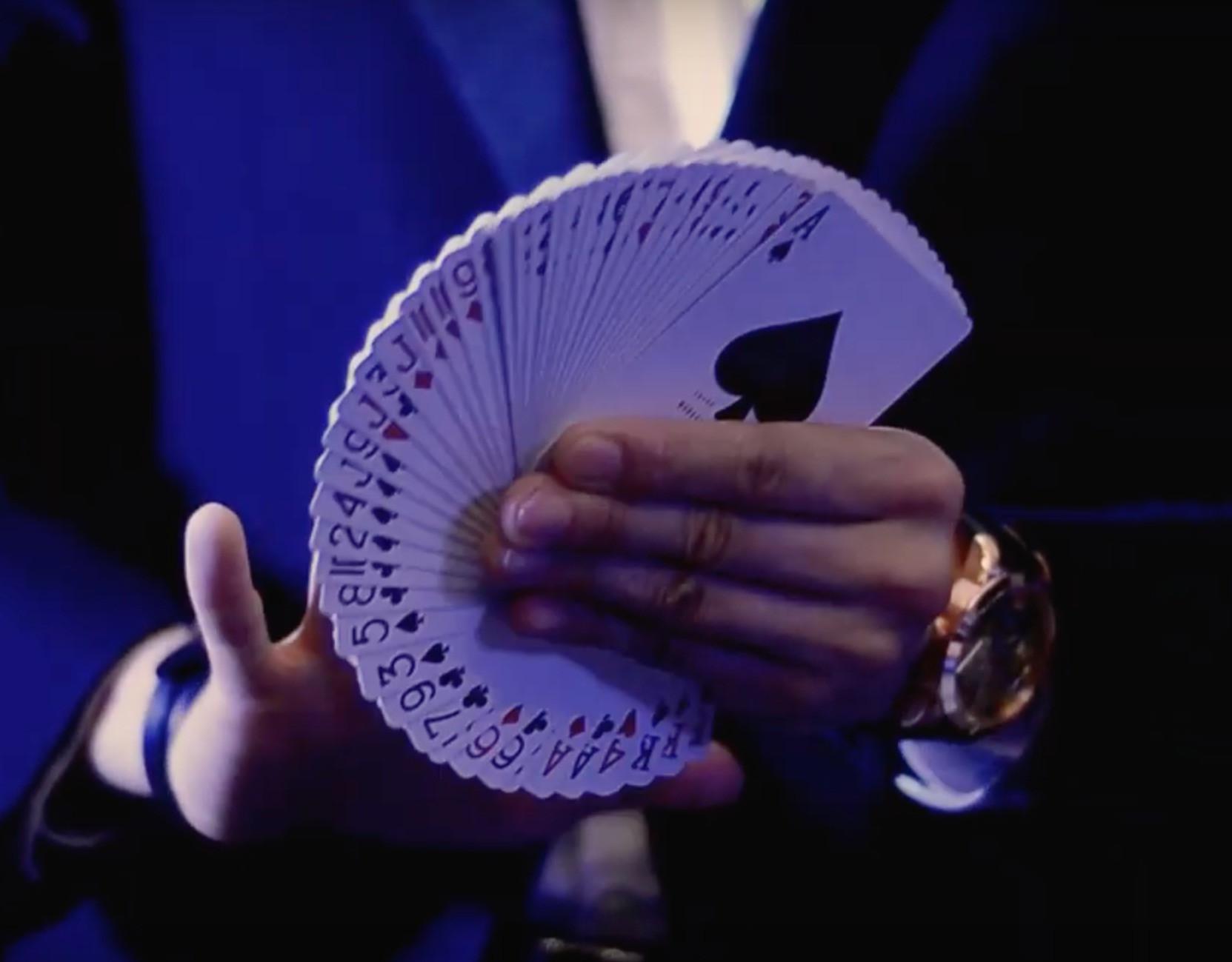 Secret Card Techniques   賭神牌術課程