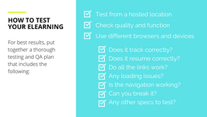 How to QA eLearning