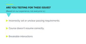 Top 3 eLearning Testing Gaps