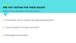 Top 3 eLearning Testing Gaps