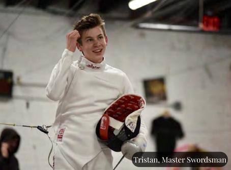Athlete InFocus: Tristan Szapary, Fencing Superstar