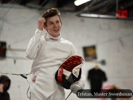 Athlete InFocus: Tristan Szapary, Fencing Superstar