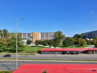 Výhľad na Ekonomickú univerzitu