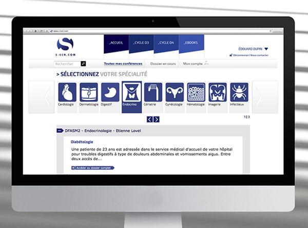 S-ECN - Web design