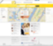 Pages France - Web design