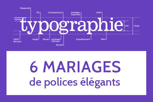 Typo : 6 mariages de caractères qui fonctionnent ou comment faire un beau titre