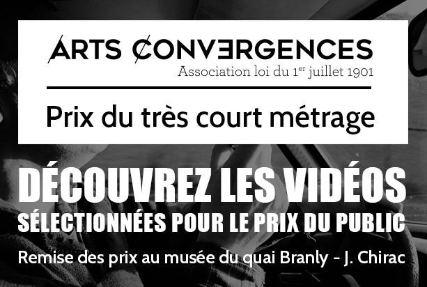 Prix du très court métrage Arts Convergences : Découvrez les vidéos sélectionnées !