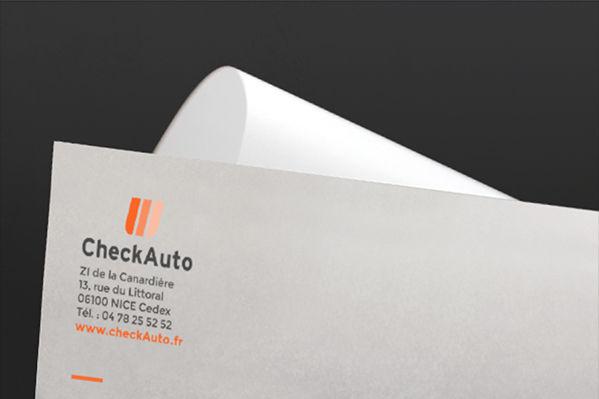 Check Auto - Entête de lettre