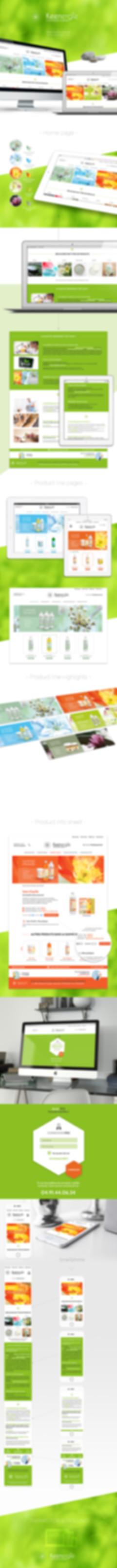 Keenergie Web design