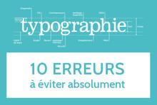 Typo : 10 erreurs à éviter absolument
