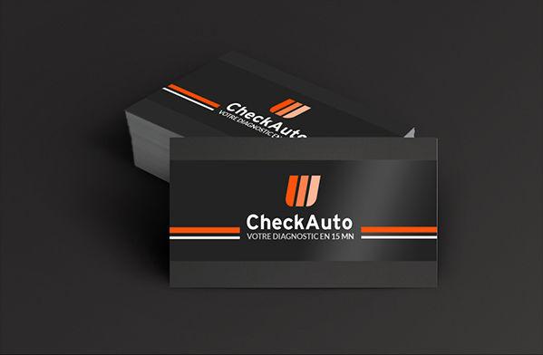 Check Auto - Cartes de visite