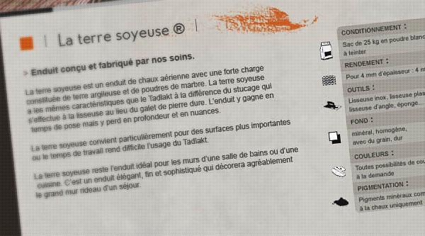 123 Matières - Web design