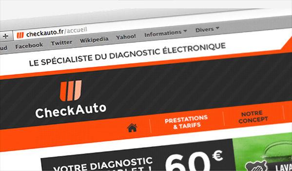 Check Auto - Web design