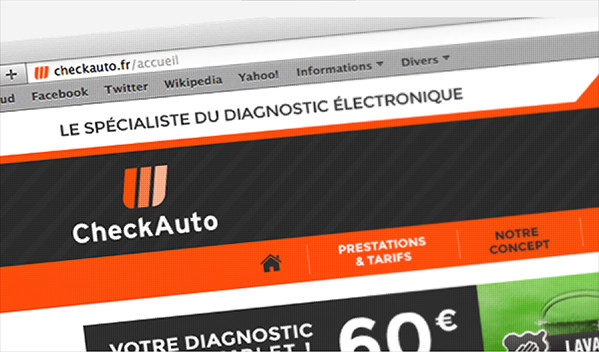Check Auto - Web design