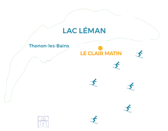 carte localisation Le Clair Matin