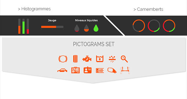 Check Auto - Pictogrammes