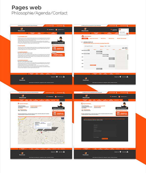 Check Auto -Pages web