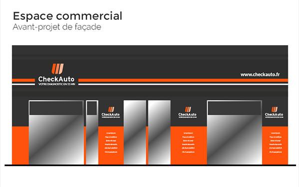 Check Auto - Espace commerciale