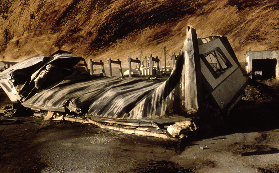 Collapsed Shelter, Oregon,1996