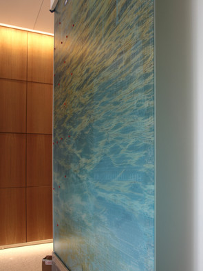 Installing AquaData, Photographs, Lamina