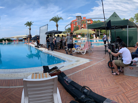 tough life shooting a commercial in turkey