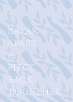 Break Apart - 5 x 7 / 8 x 10 Print