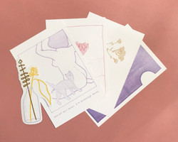 Sensitive Introvert Issue 2 Postcard Bundle