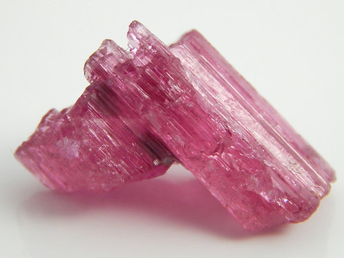 Hot Pink Brazilian Tourmaline Etched Crystal Rough 2.4 Grams (#102)