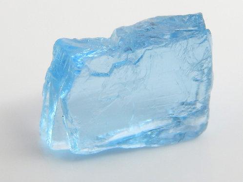 Aquamarine Facet Rough 1 Gram (#116p)
