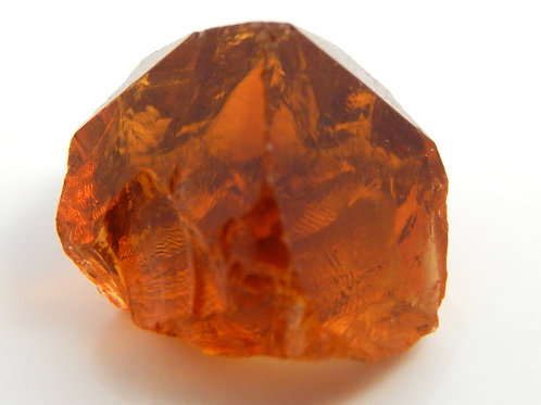 Select Red Citrine Facet Rough 2.6 Grams (#50p)