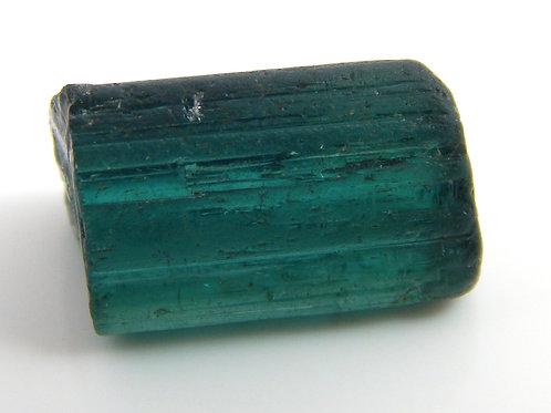 Greenish Blue Congo Tourmaline Facet Rough 1.6 Grams (#510p)