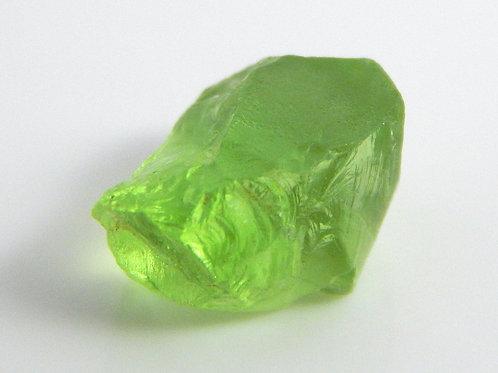 Mint Peridot Facet Rough 0.8 Grams (#26p)
