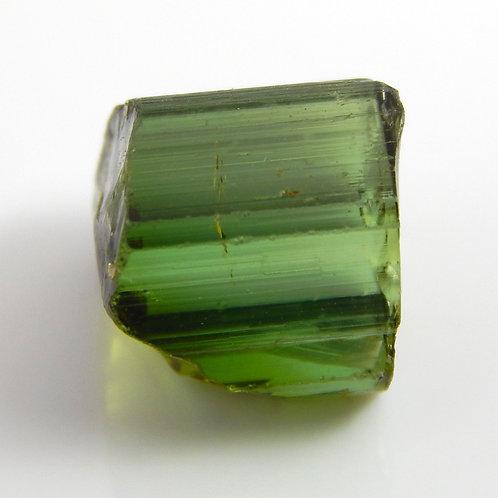 Green Congo Tourmaline Facet Rough 1.2 Grams (#630p)