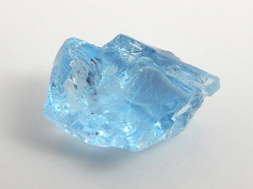 Aquamarine Facet Rough 0.9 Grams (#80p)