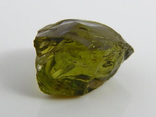 Green Tourmaline Facet Rough 1.9 Grams (#158)