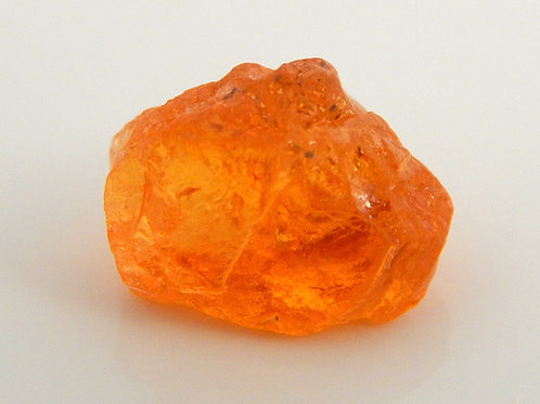 Spessarite Garnet Facet Rough 0.8 Grams (#135p)