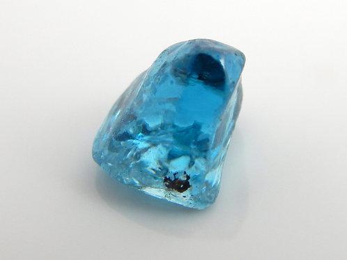 Blue Cambodian Zircon Facet Rough 0.7 Grams (#12p)