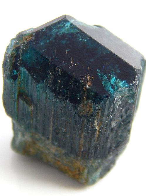 Indicolite Tourmaline Crystal 7.5 Grams (#43)