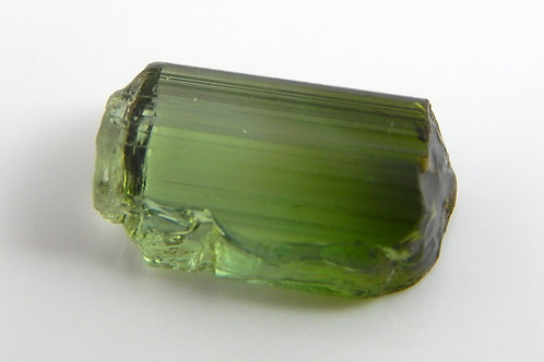 Green Congo Tourmaline Facet Rough 1.3 Grams (#536p)